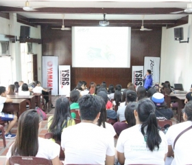 Mio Campus tour in De La Salle Bacolod