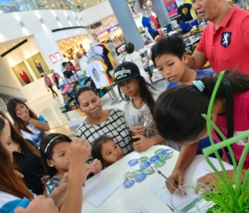 Mio mall tour in Bacolod