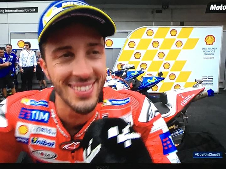 the racing line pit stop: andrea dovizioso of shell ducati - the