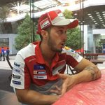 The Racing Line PIT STOP:  Andrea Dovizioso (Shell Ducati Team)