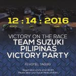 Team Suzuki Pilipinas Victory Party – Part 2 Achievements, Rider speeches and Re…