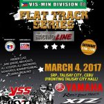 "Are you ready CEBU?  ""CASTROL POWER ONE NATIONWIDE FLAT TRACK SERIES VISMIN DIVI…"