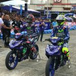 Valentino Rossi and Maverick Vinales on the track at YGP-8 A Legendary Arrival -…