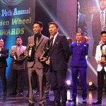 The 14th Golden Wheel Awards Golden Wheel Awards rider of the year!  Marvin Mang…