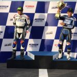 Yamaha Blue Core Challenge Team Corbe wins the race with the most number of laps…