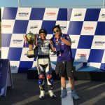 Yamaha Blue Core Challenge Team Mazo wins best fuel efficient and Fastest lap by…