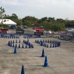 Yamaha Gymkhana Race day today! SM Sta Rosa.