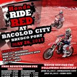 Honda Ride Red at Bacolod City Bredco Port May 28, 2017