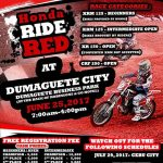HONDA RIDE RED on June 25, 2017 @ Dumaguete Business Park.