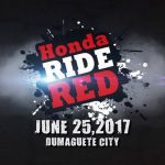 Honda Ride Red- Dumaguete City June 25, 2017, Dumaguete Business park (at the ba…