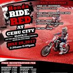 HONDA RIDE RED in CEBU CITY July 29, 2017 at Block 27, at the back of Bay Front …