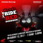Catch the all-new CRF 250 Rally displayed at the Honda Ride Red  off road race e…