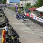 Super Series Bacolod GP Super Scooter race  won by Masato Fernando of Yamaha-Spe…