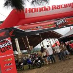 Cool Weather Race Day here in Malaybalay! Honda Ride Red