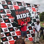 Honda Ride Red Davao City! Calinan Track.