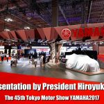 A message video by the President Hiroyuki Yanagi at the Yamaha Motor Press Confe…