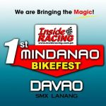 Don't miss the InsideRACING's 1st Mindanao Bikefest in Davao! LIKE & SHARE!
