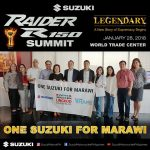 The Raider R150 sure is legendary but we all as one Suzuki Family mga papi are s…