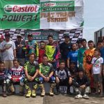 Wet and Mud race here at the Castrol Power One Regional Flat Track Series! Bacol…