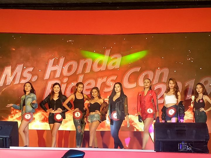 2018 honda riders convention davao miss honda con competition the