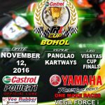 2016 Castrol Power One TRL CUP – Bohol Cup and Visayas Finals. November 12, 2016…