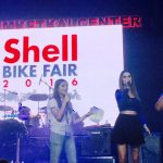 Diana Meneses in the house! Shell Advance Bike Fair Cagayan de Oro