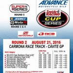 Shell Advance-IR Cup Series Rd. 2 August 21, 2016 at Carmona Race Track