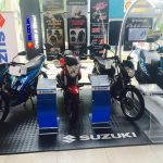 Suzuki Booth display here at the Shell Advance Bike Fair Cagayan de Oro