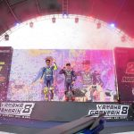 IN THE PRESENCE OF GREATNESS YAMAHA'S VALENTINO ROSSI AND MAVERICK VINALES REV IN MANILA