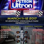 The Racing Line 2017 Petron Ultron Pro Drag Race and Autocross Race. March 11-12…