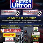 March 11-12, 2017 is Race Weekend! The Racing Line's Petron Ultron Pro Drag and …