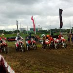 Honda CRF 250 Elimination round.  #HondaRideRed