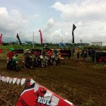 Honda XRM 125 Intermediate Category Elimination round.  #HondaRideRed