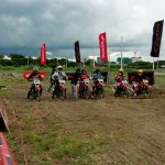 Elimination Round for the Honda XRM 125 Beginners.  #HondaRideRed