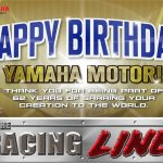 Happy Birthday Yamaha Motor!  More Power! From: The Racing Line TV  #yamahappybi…