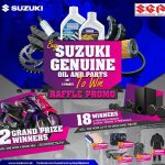Give your Suzuki motorcycle a makeover by buying any Suzuki  Genuine Oil & Parts…