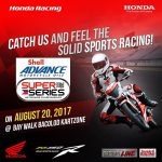 We are inviting everyone to come & watch the IR Super Series as the Honda RS150R…