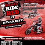 Honda Ride Red in DAVAO CITY September 10, 2017