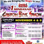 See you all there!This is it :)  Mag kita.kita ta… #1stMindanaoIRBikeShow #1st…