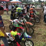 Castrol Power One Flat Track Series Tagum City!  Mini Juniors Heat 1