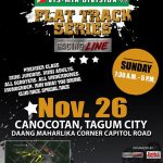 Castrol Power One Regional Flat Track Series in Tagum City November 26, 2017