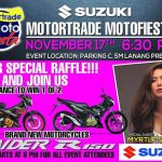 Come and join Suzuki and Motorjoy tomorrow at SM Lanang Premier for the Motortra…