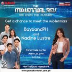 Get a chance to MEET the Miollennials at The Millennial Rev: We Own the Future I…
