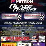 Two Days to GO!PETRON BLAZE RACING Araw ng Dabaw Race The Racing Line 2018 Petro…