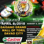 Castrol Power One TRL Cup Championship Series Davao this April 8, 2018 at Gaisan…