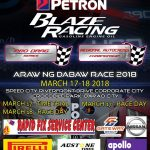 PETRON BLAZE Racing Autocross & Pro Drag March 17-18, 2018 @ Speed City Riverfro…