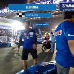 Yamaha Grand Prix Cebu 2018 All Female Race! C-Let Quizon showed that she is sti…