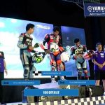 Yamaha Grand Prix Cebu AT 160 Open Race Mario Borbon Jr is back on track with a …