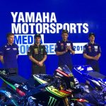 Yamaha Racing MotoGP team launched at Chang International Circuit, Buriram Thail…