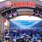 Yamaha Time To Rev Opening Ceremony  THE LEGENDS RETURN Valentino Rossi & Maveri…